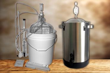 Équipements de fabrication de vin et de bière