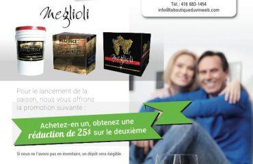 Promotion sur la fabrication du vin
