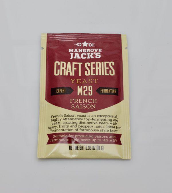 Levure sèche à bière Mangrove Jack's 10 g - M29 French Saison