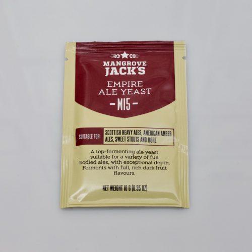Levure sèche à bière Mangrove Jack's 10 g - M15 Empire Ale