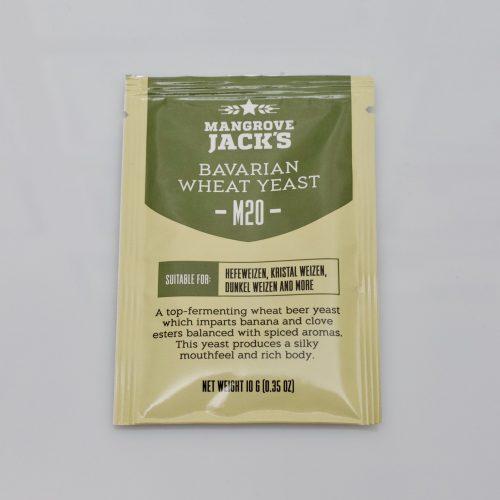 Levure sèche à bière Mangrove Jack's 10 g - M20 Bavarian Wheat