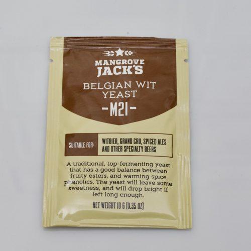 Levure sèche à bière Mangrove Jack's 10 g - M21 Belgian Wit