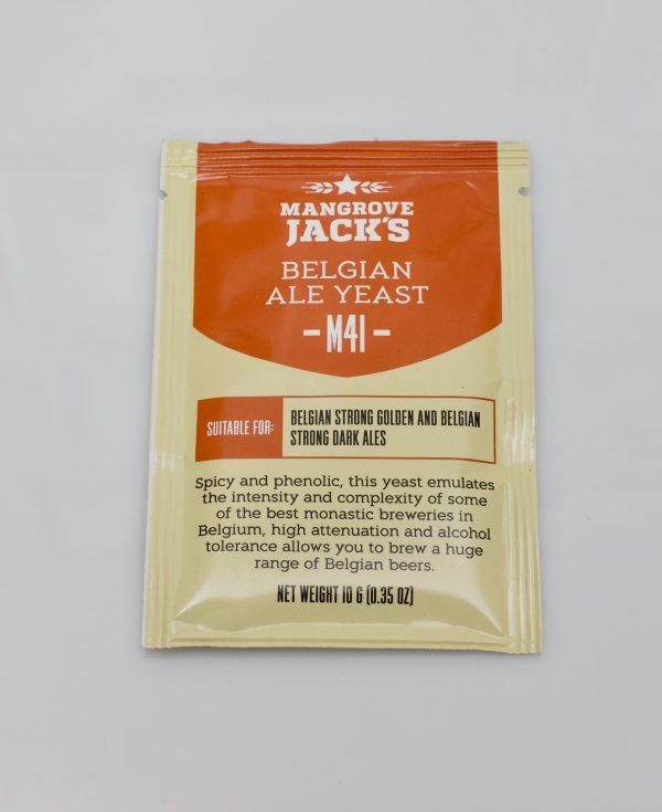 Levure sèche à bière Mangrove Jack's 10 g - M41 Belgian Ale