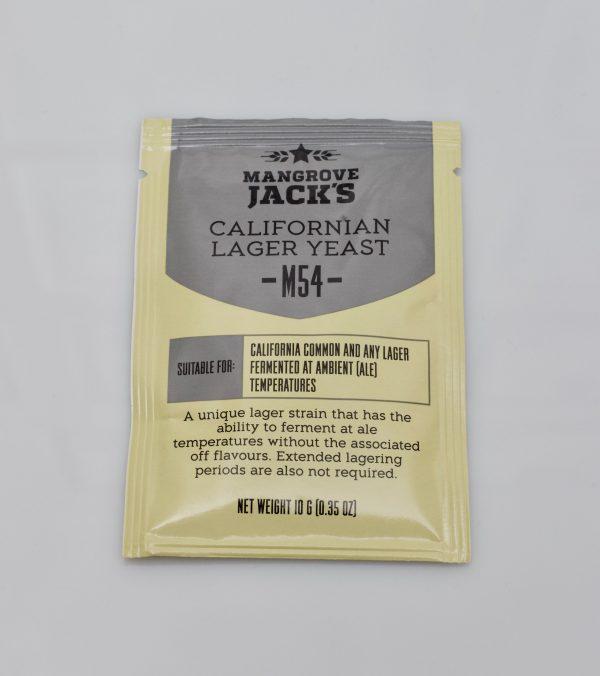 Levure sèche à bière Mangrove Jack's 10 g - M54 California Lager