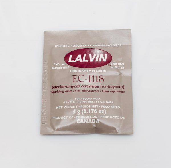 Levure sèche à vin Lalvin 5g -EC-1118
