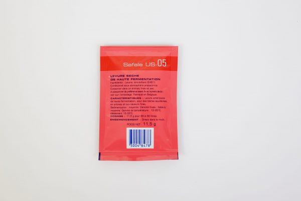 Levure sèche à bière Safale – US-05 - Fermentis 11 g