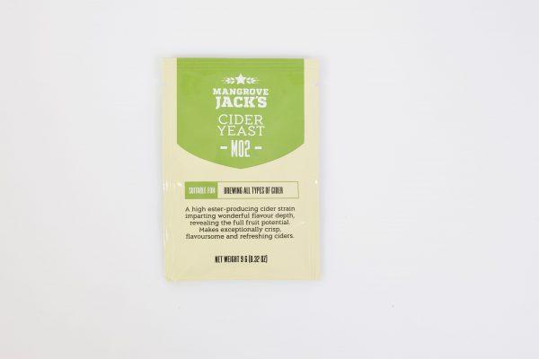 Levure sèche à cidre Mangrove Jack's 10 g - M02 / Cider