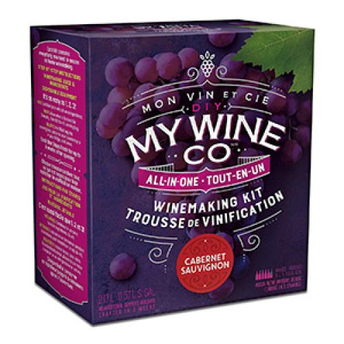 Trousses à vin 4L My Wine CO Rouge